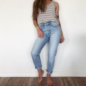 •Madewell• The perfect summer jean